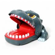 Детская настольная игрушка Crazy Game голова годзиллы (Синий)