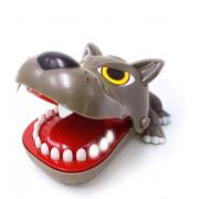 Детская настольная игрушка Crazy Game голова волка (Коричневый)