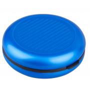 Карманная монетница с зеркалом (Синий)