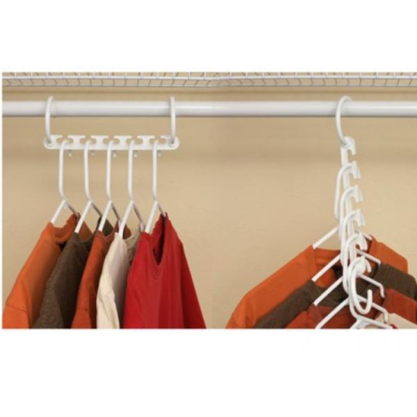 Вешалка органайзер Triples Closet Space (Белый)