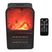 Портативный обогреватель с LCD-дисплеем  Flame Heater (Черный)