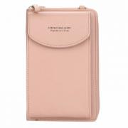 Женское портмоне-сумка Baellerry Forever (Бледно-розовый)