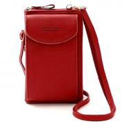 Женское портмоне-сумка Baellerry Forever (Красный)