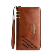 Мужское портмоне-клатч Baellerry Leather W009 (Коричневый)
