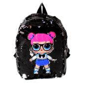 Рюкзак детский Surprise с пайетками (Черный)