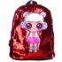 Рюкзак детский Surprise с пайетками (Красный)