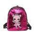 Рюкзак детский Surprise с пайетками (Ярко розовый)