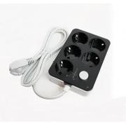 Сетевой фильтр удлинитель SX-E205 1.8м (Черный)
