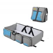 Детская сумка-кровать Baby Bed and Bag (Голубой)