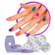 Маникюрный набор Salon Express (Фиолетовый)