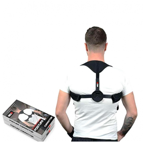 Корректор осанки Posture Corrector NIUS (Черный)