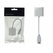 Адаптер переходник HDMI to VGA Adapter (Белый)