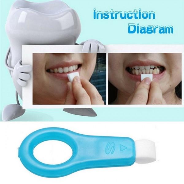 Средство для отбеливания зубов Teeth Cleaning Kit (Голубой)