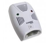 Ультразвуковой отпугиватель грызунов и насекомых Riddex Pest Repeller Aid эффективный безопасен для окружающей среды для открытых помещений (Белый)
