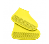 Водонепроницаемые многоразовые бахилы от дождя и грязи для защиты обуви, размер L (Желтый)