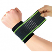 Защитный фиксатор для запястья Copper Fit Pressurized Wristbands ST-2543 (Чёрный)