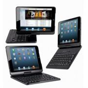 Чехол книжка с клавиатурой для iPad Air 1, 2 Bluetooth (Черный)