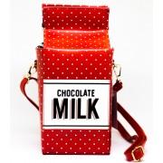 Женская сумка-кошелек Chocolate Milk (Красный)