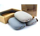 Универсальный внешний стильный аккумулятор Power Bank Powerbank дизайн Stone камень
