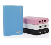 Универсальный внешний аккумулятор Power Bank Powerbank 12000 mAh, 2 USB - входа