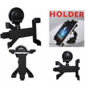 Универсальный автомобильный держатель для планшета 7-10 дюймов (Черный)