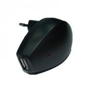 Сетевое зарядное устройство USB 220V 1А
