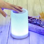 Аудиоколонка Atmosphere Lamp Speaker HY-BT819L беспроводная bluetooth с лампой LED подсветкой (КРАСНЫЙ)