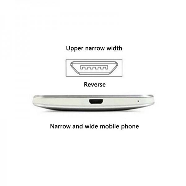 Универсальный Qi ресивер приемник для беспроводной зарядки microUSB тип A для Android