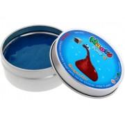 Слайм умный магнитный пластилин Nauty Putty (Синий)