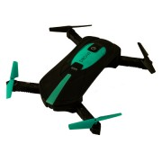 Квадрокоптер Pocket Drone JY018 (Черный с зеленым)