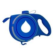 Многофункциональный выдвижной поводок для собак Aqua Leash (Синий)