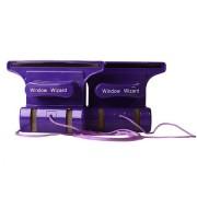 Магнитная щетка для мытья окон Window Wizard (Фиолетовый)