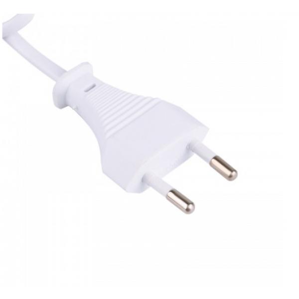 USB-концентратор на 3 разъема с сетевым входом 3 USB 1A/2.1A 1m