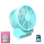 Компактный вентилятор REMAX F19 USB Dual-vane Design Fan (Голубой)