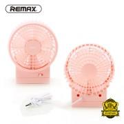 Компактный вентилятор REMAX F19 USB Dual-vane Design Fan (Розовый)