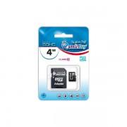 Карта памяти SmartBuy MicroSD 4 Gb Class 10 (Ultimate)