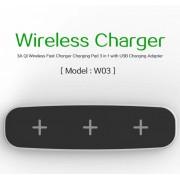 Беспроводное зарядное устройство 3 в 1 Qi Wireless Charging Stand