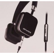 Стильные качественные наушники Awei A900hi (черный)