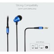 Стильные качественные наушники Awei Q6 (голубой)