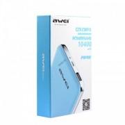 Портативный аккумулятор Awei P84K Power Bank 10400 mAh (белый)