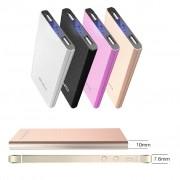 Портативный аккумулятор Awei P87K Power Bank 8000 mAh (серебристый)