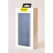 Портативный аккумулятор Awei P89K Power Bank 16000 mAh (серый)