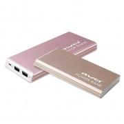 Портативный аккумулятор Awei P92K Power Bank 10000 mAh (золотой)