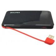Портативный аккумулятор Awei P10K Power Bank 6000 mAh (черный)