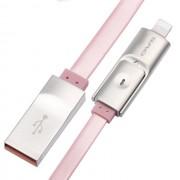 Дата кабель 2 в 1 Awei CL-989 (розовый)