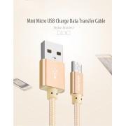 Дата кабель Awei CL-10 Micro USB (розовое золото)