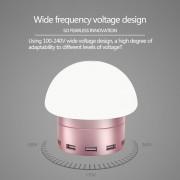Зарядное устройство Awei C910 LED Lamp with 6 USB ports (розовый)