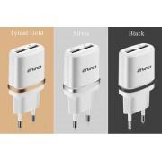 Функциональное зарядное устройство Awei C-930 Travel Adapter EU Plug (черный)