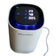 Автомобильный очиститель воздуха с датчиком движения Awei Air Purifier (белый)