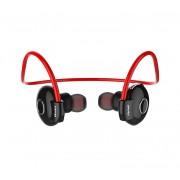 Беспроводные стильные Bluetooth наушники Awei A845BL (красный)